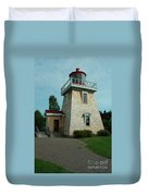 Saint Martin's Lighthouse Duvet Cover