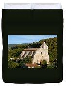 Saint Mary Of Saignon Duvet Cover