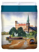 Saint Mary's Church Battersea London Duvet Cover