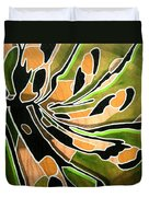 Saint Papilio Polyxenes Study Duvet Cover