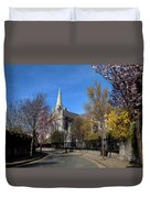 Saint Patricks Cathedral Founded Duvet Cover