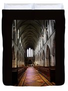 Saint Patrick's Cathedral Interior Dublin Duvet Cover