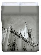 Saint Paul Cathedral In Cathedral Duvet Cover