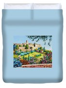 Saint Paul De Vence Duvet Cover