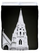 The Surreal Spire Duvet Cover