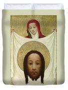 Saint Veronica With The Sudarium Duvet Cover