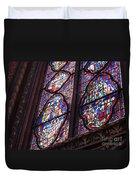 Sainte-chapelle Window Duvet Cover