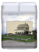Sakonnet Point In Little Compton Rhode Island Duvet Cover