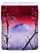 Sakura Duvet Cover by Anastasiya Malakhova