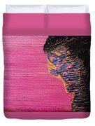 Collage Nr. 10 Salamander Duvet Cover by Jo Ann