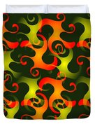 Salamanders Dream Duvet Cover