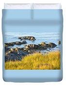 Salem Coastline Duvet Cover