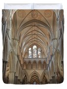 Salisbury Cathedral Quire And High Altar Duvet Cover