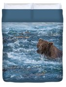 Salmon Salmon Everywhere Duvet Cover