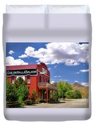 Saloon - Dayton - Nevada Duvet Cover