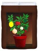 Salsa Plant Duvet Cover