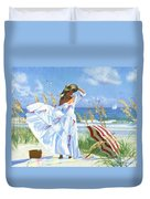 Salt Aire Blues Duvet Cover