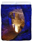 Salt Cathedral- Colombia Duvet Cover