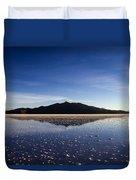 Salt Cloud Reflection Duvet Cover