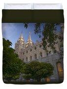 Salt Lake City Temple Duvet Cover