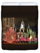 Salt Lake Temple - 3 Duvet Cover
