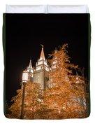 Salt Lake Temple  Duvet Cover