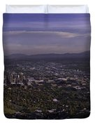 Salt Lake Valley Duvet Cover