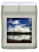 Salt Pond Mirror  Duvet Cover
