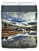 Salt River Pass Duvet Cover