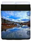 Salt River Reflections Duvet Cover