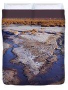 Salt Stream Confluence Duvet Cover