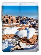 Salt Valley Overlook Duvet Cover