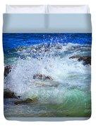 Salt Water Serenade Duvet Cover