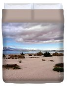 Salton Sea California Duvet Cover