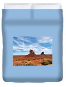 Saluting Sentinels Duvet Cover