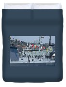 Saluting To Prince Harry Duvet Cover