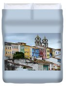 Salvador Brazil The Magic Of Color Duvet Cover