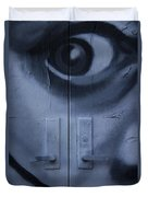 Salvador Dali Doors Graffiti Art Duvet Cover