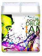 Salvador Dali Pop Art Duvet Cover