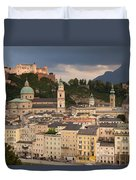 Salzburg After The Storm Duvet Cover