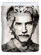 Sam Elliott 3 Duvet Cover