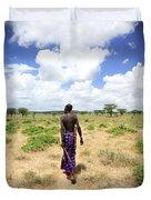 Samburu Chief Duvet Cover