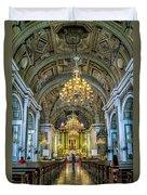 San Agustin Church  Duvet Cover