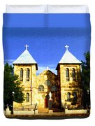 San Albino Church Duvet Cover