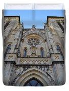 San Antonio Church 02 Duvet Cover