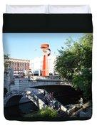 San Antonio River 01 Duvet Cover