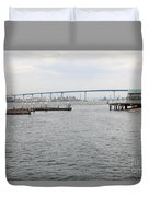 San Diego Coronado Bridge 5d24351 Duvet Cover