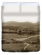 San Diego Mission In Mission Valley California Circa 1909 Duvet Cover