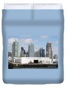 San Diego Port Duvet Cover