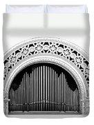 San Diego Spreckels Organ Duvet Cover